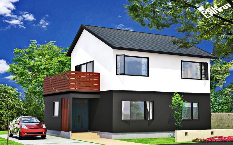 住宅Aの建築プレゼンテーション